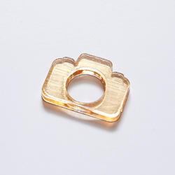Plexi ozdoba – Foťáček – zlatá
