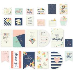 Posh Dashboards & Pocket Cards 24/Pkg - 1
