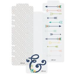 Posh Plastic Bookmarks A5 3/Pkg - 1