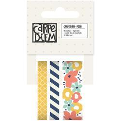 Posh High Style Washi Tape 36' Total