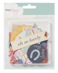 Lucky Charm - Printed Cardstock Shapes- Dear Lizzy