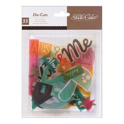 Printshop Cardstock Die Cut Shapes 33 pkg