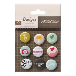 Printshop Flair Self Adhesive Badges