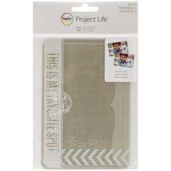 Project Life 4x6 SET #1 Photo Overlays 12 pkg - 1