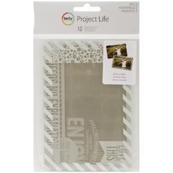 Project Life 4x6 SET #2 Photo Overlays 12 pkg - 1