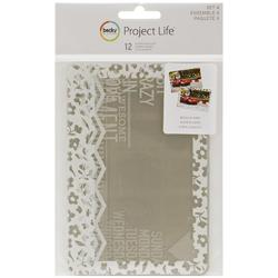 Project Life 4x6 SET #4 Photo Overlays 12 pkg - 1