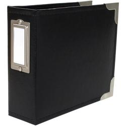 "Project Life Classic Faux Leather D-Ring Album 4""x4"""