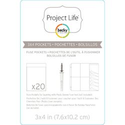 Project Life Photo Sleeve Fuse 3x4 inch (1 kus) - 1