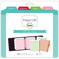 Project Life® Weekly Planner Calendar Pages & Dividers 6x8 - 1