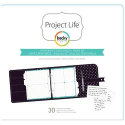 Project Life® Planner Perforated Grid Cards 30pkg - 1