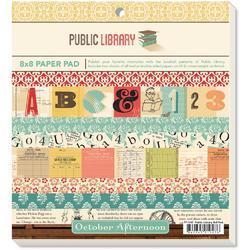 """Public Library Paper Pad 8""""x8"""" 24 pkg - 1"""