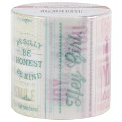 "Quote Me Fat Roll Washi Tape 2""x26' - 1"