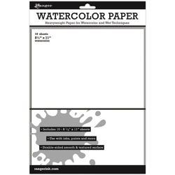 Ranger Surfaces Watercolor Paper 10pkg