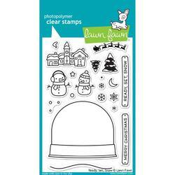 Ready, Set, Snow Clear Stamps