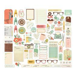 Reset Girl Bits & Pieces Die-Cuts 67/Pkg