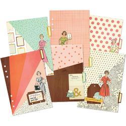 Reset Girl Double-Sided Dividers A5 6/Pkg - 1