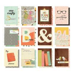 "Reset Girl Double-Sided Pocket Cards 3""X4"" 12/Pkg - 1"