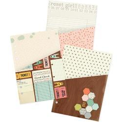 Reset Girl Double-Sided Pocket Inserts A5 3/Pkg - 1