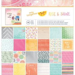 "Rise & Shine Paper Pad 12""x12"""