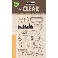 Road Trip Clear Stamps 4x6