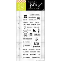 School Planner Clear Stamps - 1