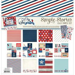 Sea To Shining Sea Simple Sets Collection Kit 12x12
