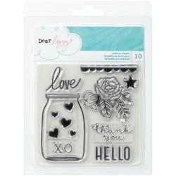 Serendipity Clear Acrylic Stamps - 1