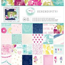 "Serendipity Paper Pad 12""x12"" - 1"