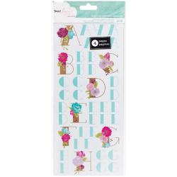 Serendipity Sticker Book Floral Alpha