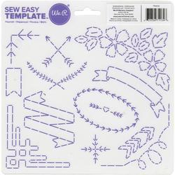 Sew Easy Templates Flourish - 1