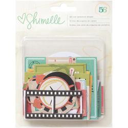 Shimelle Ephemera Cardstock Die-Cuts 56 pkg - 1