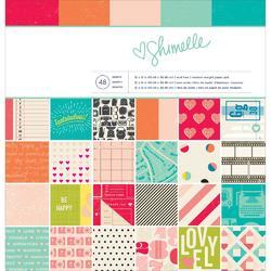 "Shimelle Paper Pad 12""x12"" - 1"