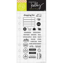 Shopping Planner Clear Stamps - 1
