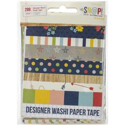 Sn@p! Life Documented Designer Washi Paper Tape - 1