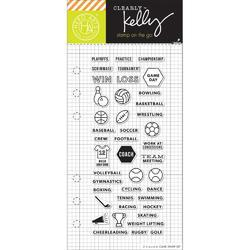Sports Planner Clear Stamps - 1