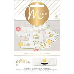 Spring Fling Minc Label Stickers - 1