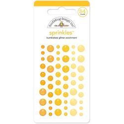 Sprinkles Bumblebee Adhesive Glitter Enamel