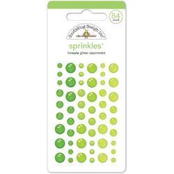 Sprinkles Limeade Adhesive Glitter Enamel