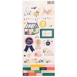 """Star Gazer Cardstock Stickers 6""""X12"""" 2/Pkg"""