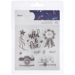 Star Gazer Clear Acrylic Stamps