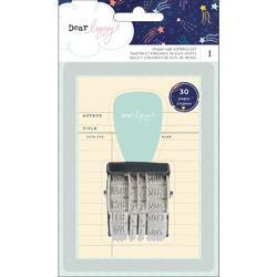 Star Gazer Roller Stamp & 30-Page Notepad - 1