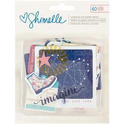 Starshine Cardstock & Acetate Ephemera
