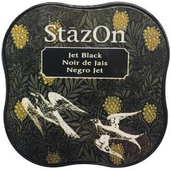 StazOn Midi Ink Pad – Jet Black - 1