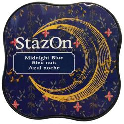 StazOn Midi Ink Pad – Midnight Blue - 1