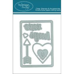 Heart Die Card - 1