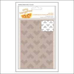 Stitched Love Spun Embossing Folder - 1