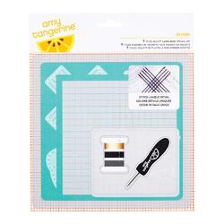 Stitched Oxford 5 Piece Embroidery Stencil Kit - 1
