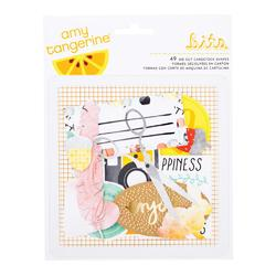 Stitched Shapes Cardstock Die Cuts 49 pkg - 1