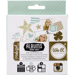 Studio Gold Albums Made Easy Journaling Cards - 1
