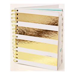 """Studio Gold Calendar Book 6""""x7.5"""" - 1"""